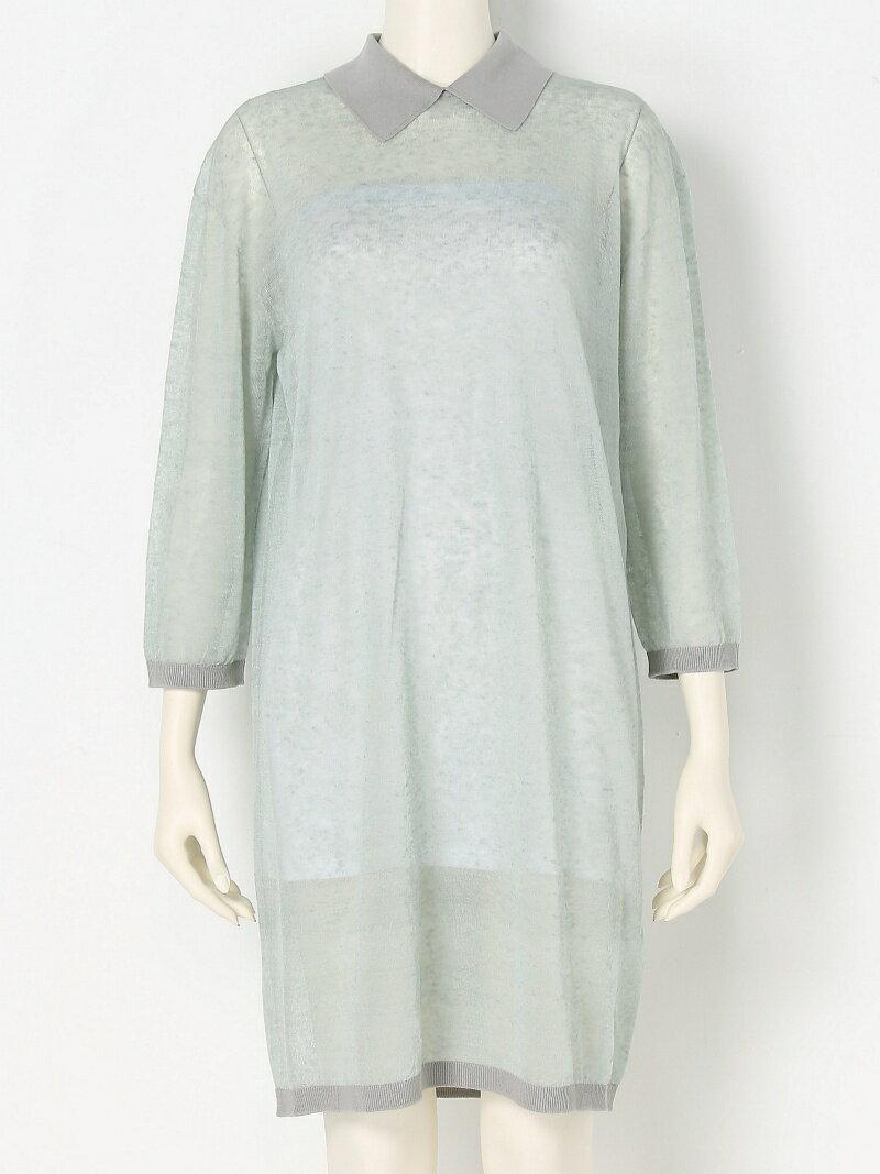 【SALE/45%OFF】iliann loeb Collared dress イリアンローヴ ワンピース【RBA_S】【RBA_E】【送料無料】