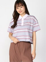 (W)Cropped S/S Polo Shirt
