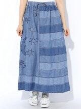 (L)リメイクデニムスカート
