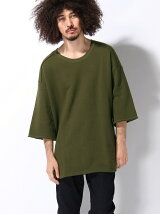 3/7 SLEEVE GAUZE SWEAT