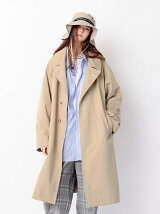 <monkey time> TC/NYLON WTHR OVER COAT/コート