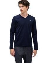 (M)VネックTシャツ