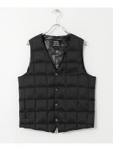 TAION V NECK BUTTON DOWN GILET