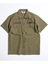 BEN DAVIS/EMBROIDERY MILITARY SHIRTS