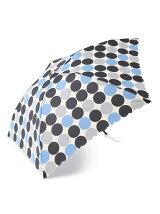 ビッグドット柄 折りたたみ傘