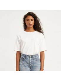 【SALE/50%OFF】Levi's SS BOXY Tシャツ WHITE + リーバイス カットソー Tシャツ
