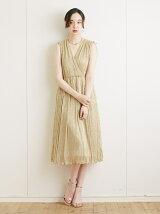 シャイニープリーツドレス