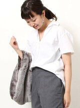 綿麻2WAYシャツ