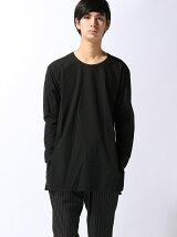 CREW NECK LONG SHIRT