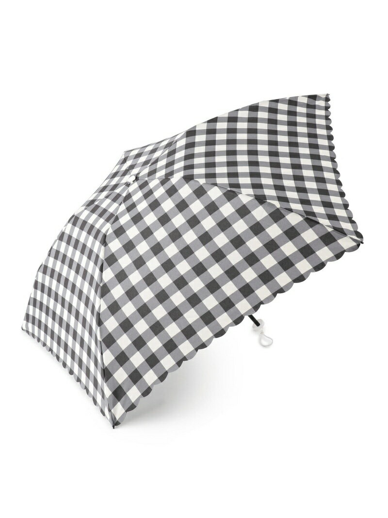 【SALE/50%OFF】Afternoon Tea ブロックチェック柄 折りたたみ傘 アフタヌーンティー・リビング ファッショングッズ【RBA_S】【RBA_E】