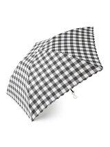 ブロックチェック柄 折りたたみ傘