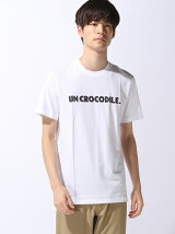 『UN CROCODILE』レタリング Tシャツ (半袖)