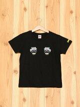 ANAPKIDSカラベラスカル刺繍Tシャツ