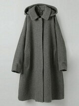 ステンカラーフードコート