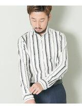 URBAN RESEARCH Tailor シャギーストライプショートポイント