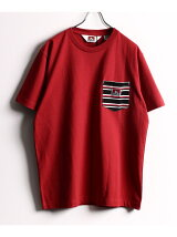BEN DAVIS/BORDER POCKET TEE