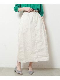 【SALE/52%OFF】frames RAY CASSIN ツイルマキシスカート レイカズン スカート 台形スカート/コクーンスカート カーキ ネイビー ホワイト