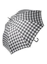 ブロックチェック柄 長傘