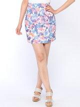 サマーフラワーH/Wタイトスカート