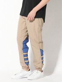 【SALE/30%OFF】adidas Originals ビッグ トレフォイル カラーブロック ウーブン トラックパンツ(ジャージ)/ アディダスオリジナルス アディダス パンツ/ジーンズ パンツその他 ベージュ ブルー【送料無料】