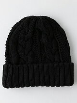 <GRILLO> CABLE KNITCAP/ニットキャップ