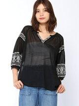 【emsexcite】刺繍入り袖バルーンBL