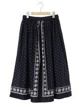 Pullffy 柄×柄リバーシブルスカート