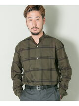 URBAN RESEARCH Tailor チェックバンドカラー