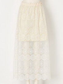 【SALE/45%OFF】iliann loeb Layered long skirt イリアンローヴ スカート【RBA_S】【RBA_E】【送料無料】