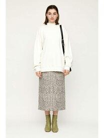 SLY JENA LEOPARD ミディアムスカート スライ スカート スカートその他 ホワイト ブラウン【送料無料】