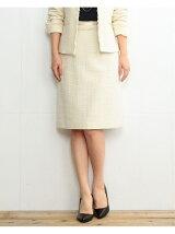 【VERY2月号掲載】ビーミング by ビームス / ツイードタイトスカート 17MO BEAMS 入学式 スーツ