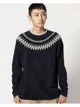 BEAMS / スノーパターン スウェットシャツ
