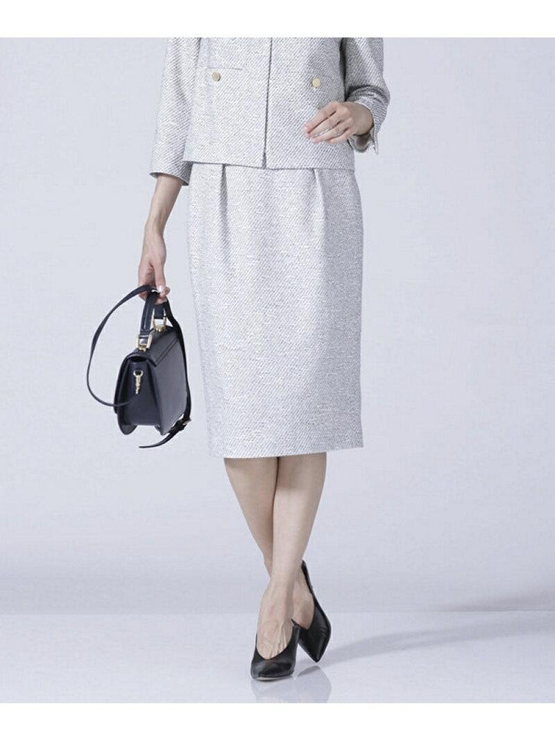 【SALE/60%OFF】nano・universe FOツィードタックタイトスカート ナノユニバース スカート【RBA_S】【RBA_E】【送料無料】