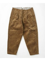 CORDUROY 1TUCK PANTS