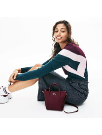 LACOSTE 『L.12.12』CONCEPT2WAYミニトート ラコステ バッグ トートバッグ ブラック ホワイト イエロー【送料無料】