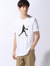 (M)『ノバク・ジョコビッチ』シルエット Tシャツ (半袖)