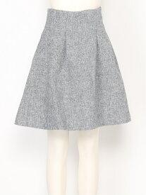 【SALE/27%OFF】titty&Co. ウエストタックスカート ティティー アンド コー スカート フレアスカート ブラック【送料無料】