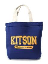 【kitson】 カレッジロゴトートバッグ