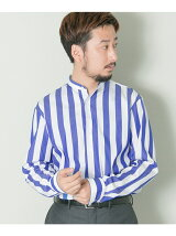URBAN RESEARCH Tailor ストライプバンドカラー