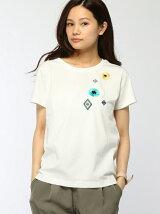 刺繍・ワッペン付Tシャツ