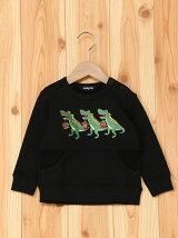 【色追加】恐竜トリオトレーナー