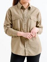 モールスキンミリタリービッグシャツ