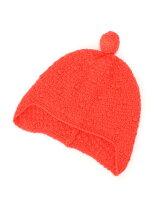 (K)モコモコドットポンポン帽DT1