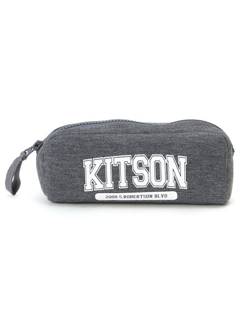 【kitson】 カレッジロゴポーチ