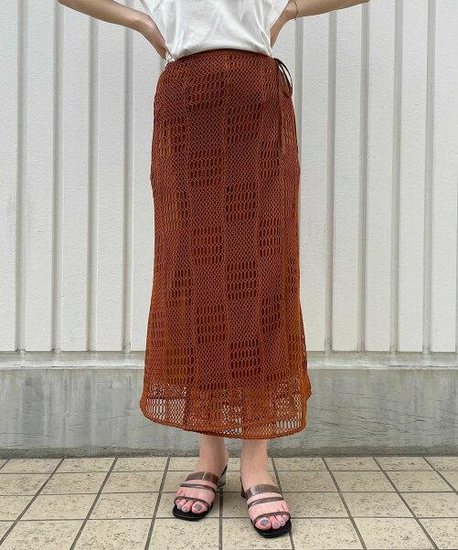 メッシュスカート