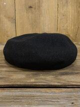ウール ミリタリー ベレー帽