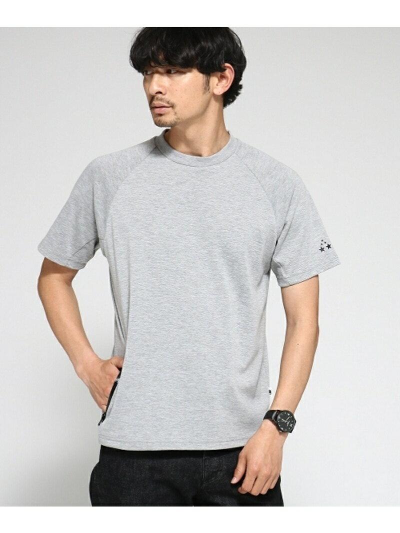 BASE CONTROL Tシャツ メンズ 吸水速乾 TCポンチ 止水ジップポケット ベース ステーション カットソー【送料無料】