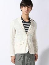 (M)綿麻ストレッチテーラードジャケット