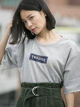 ロゴ半袖裏毛PO(C)