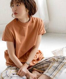 coen 【WEB限定カラー】リピT・機能付きハイネックTシャツ# コーエン カットソー Tシャツ オレンジ ホワイト ブラック ベージュ イエロー ブルー パープル レッド